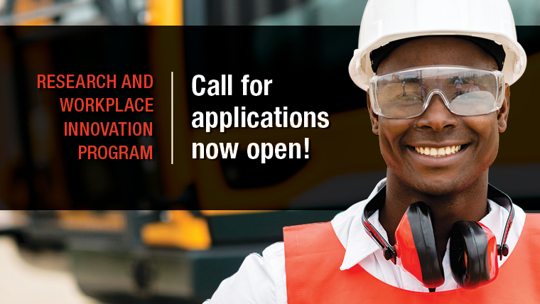 Research and Workplace Innovation Program applications now open for 2019